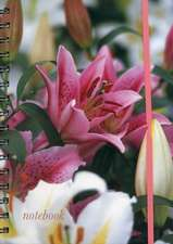 Notebook (Pink & White Iris)