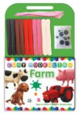 Clay Modelling Book - Farm