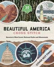 Beautiful America Cross Stitch