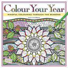 Workman Publishing: Colour Your Year Wall Calendar 2016