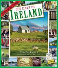 365 Days in Ireland Picture-A-Day Wall Calendar 2018
