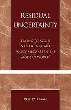 Residual Uncertainty