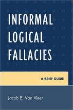 Informal Logical Fallacies