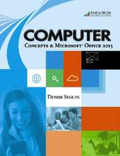 COMPUTER Concepts & Microsoft¿ Office 2013