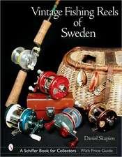 Vintage Fishing Reels of Sweden