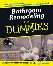 Bathroom Remodeling for Dummies:  Using Cold Noses to Find Warm Hearts