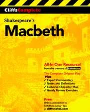 CliffsComplete Macbeth