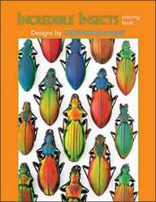 Incredible Insects Coloring Book:  Abstraction