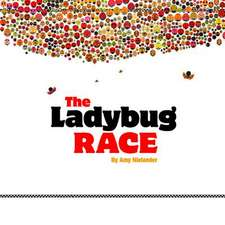 The Ladybug Race:  His Book Cover Art & Design