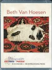 Beth Van Hoesen 100-Piece Jigsaw Puzzle  Aa910