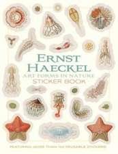 Ernst Haeckel Art Forms in Nature Sticker Book