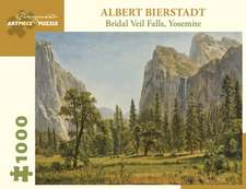Albert Bierstadt Bridai Veil Falls Yosemite 1000-Piece Jigsaw Puzzle