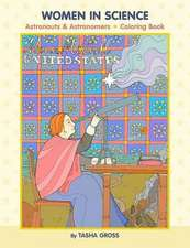 Tasha Gross Women in Science Colouring Book