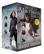 Mistborn Trilogy Set:  Mistborn, the Hero of Ages, and the Well of Ascension