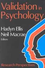 Validation in Psychology