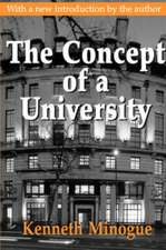 The Concept of a University
