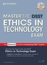 Master the DSST Ethics in Technology Exam
