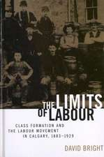 Limits of Labour:  Class Formation and the Labour Movement in Calgary, 1883-1929