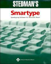 Stedman's Smartype Single-User Version 1.0a CD: Speedtyping Software for Microsoft Word for Medical Transcription