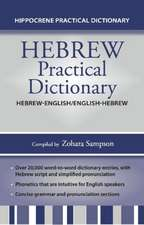 Hebrew-English/English-Hebrew Practical Dictionary