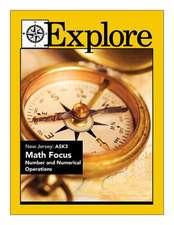 Explore New Jersey Ask3 Math Focus