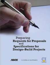 Institute, C:  Preparing Requests for Proposals and Specific