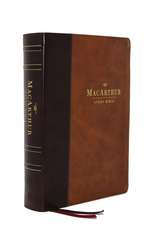 The ESV, MacArthur Study Bible, 2nd Edition, Leathersoft, Brown: Unleashing God's Truth One Verse at a Time