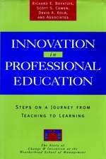 Innovation in Professional Education: Steps on a Journey from Teaching to Learning