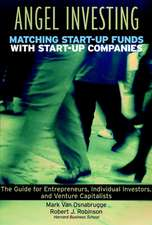 Angel Investing: Matching Startup Funds with Startup Companies––The Guide for Entrepreneurs and Individual Investors