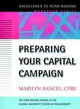 Preparing Your Capital Campaign
