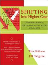 Shifting Into Higher Gear: An Owner′s Manual for Uniting Your Calling and Career