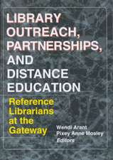 Library Outreach, Partnerships, and Distance Education
