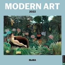 Modern Art 2022 Mini Wall Calendar