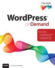 Wordpress on Demand:  With Etsy, Ebay, and Pinterest