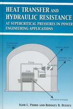 Heat Transfer And Hydraulic Resistance at Supercritical Pressures in Power Engineering Applications