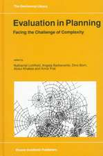 Evaluation in Planning: Facing the Challenge of Complexity