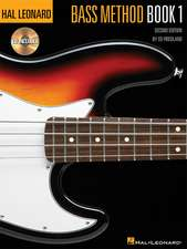 Hal Leonard Bass Method Book 1:  Book/CD Pack