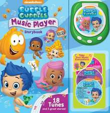 Bubble Guppies Music Player Storybook [With Music Player and 3 CDs]