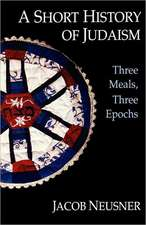 A Short History of Judaism:  Jesus, Authorities, Disciples