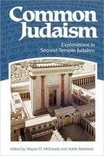 Common Judaism