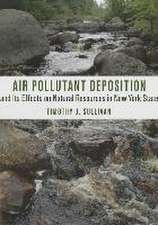 Air Pollutant Deposition and Its Effects on Natural Resources in New York State