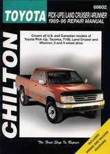 Toyota Pick-Ups, Land Cruiser, and 4 Runner, 1989-96