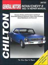 Chevrolet Nova and Chevy II, 1962-79