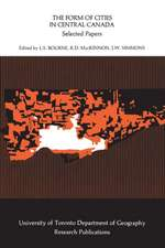 The Form of Cities in Central Canada: Selected Papers