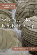 Why Psychology Needs Theology