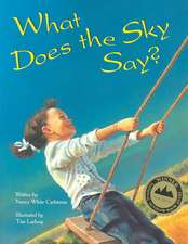 What Does the Sky Say?:  A Radio Play