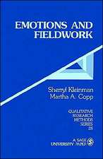 Emotions and Fieldwork