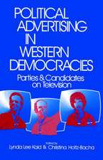 Political Advertising in Western Democracies: Parties and Candidates on Television