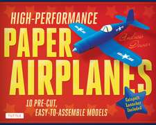 High-Performance Paper Airplanes Kit : 10 Pre-cut, Easy-to-Assemble Models: Kit with Pop-Out Cards, Paper Airplanes Book, & Catapult Launcher: Great for Kids and Parents!