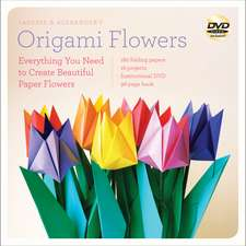 LaFosse & Alexander's Origami Flowers Kit: Lifelike Paper Flowers to Brighten Up Your Life: Kit with Origami Book, 180 High-Quality Origami Papers, 20 Projects & DVD